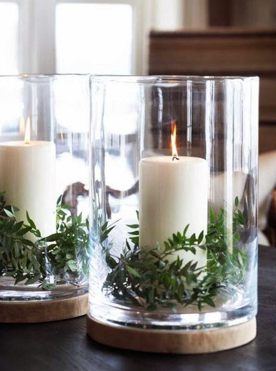 Una decoraci n navide a mas natural 22 decoracion de - Decoracion navidena natural ...