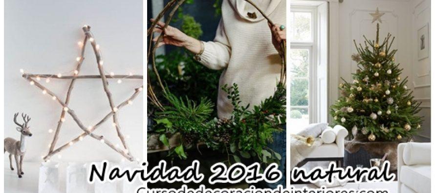 Una decoraci n navide a mas natural decoracion de - Decoracion navidena natural ...