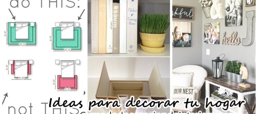 35 Ideas de decoración para interiores