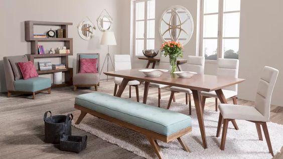 Comedores con banca una excelente opcion para tu hogar 23 for Comedores modernos 2018