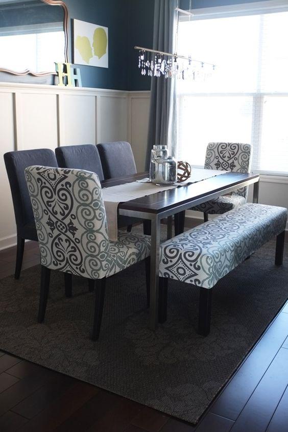 Comedores con banca una excelente opcion para tu hogar 5 curso de decoracion de interiores - Comedor con banca ...