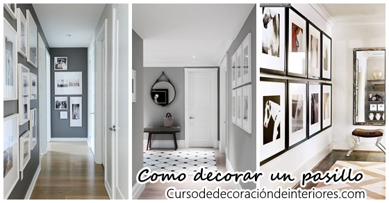 Como decorar un pasillo moderno archivos curso de decoracion de interiores interiorismo - Decorar pasillos con espejos ...