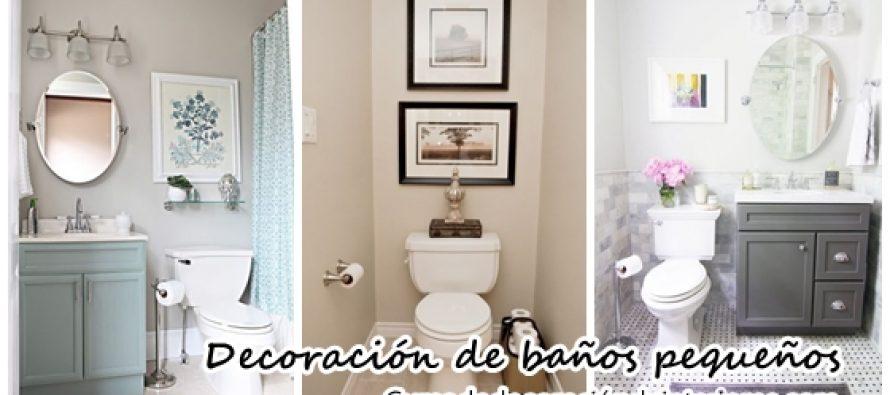 Decoración de baños pequeños