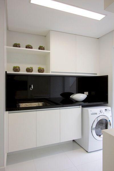 Decoracion de cuartos de lavado estilo minimalista 18 for Habitaciones estilo minimalista