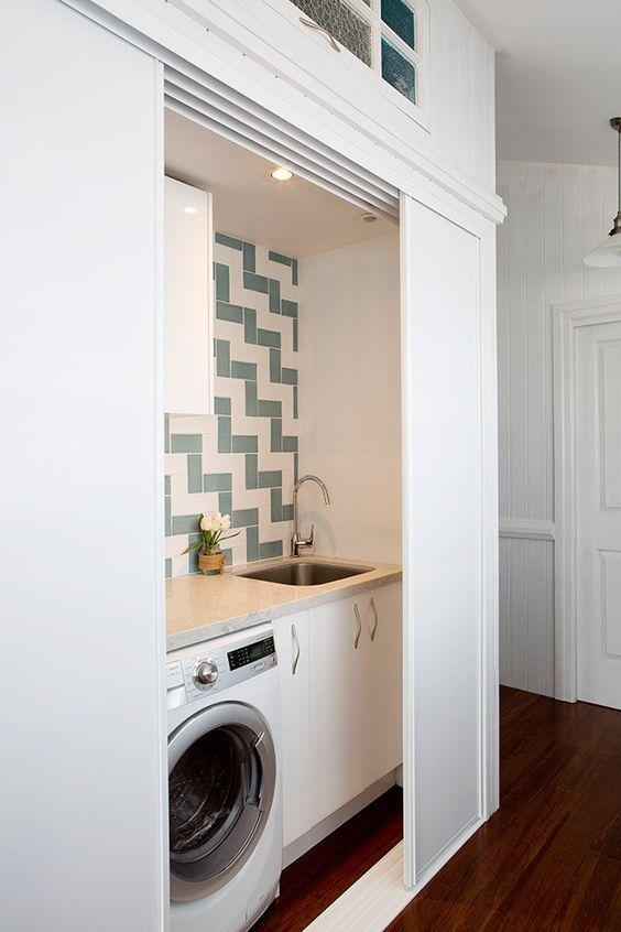 Decoracion de cuartos de lavado estilo minimalista 9 for Habitaciones estilo minimalista