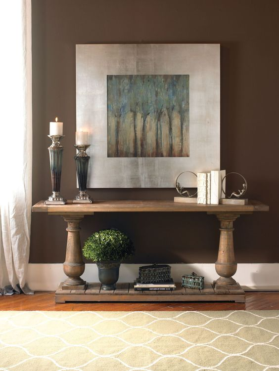 Decoracion de entradas con cuadros decorativos 10 - Decoracion de interiores con cuadros ...