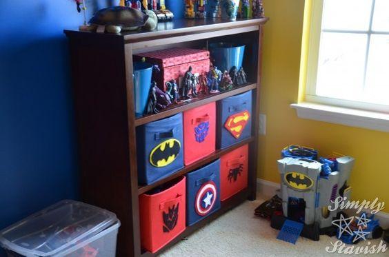 Decoracion De Habitacion Para Nino De Super Heroes 17