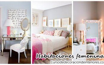 Decoración de habitaciones femeninas