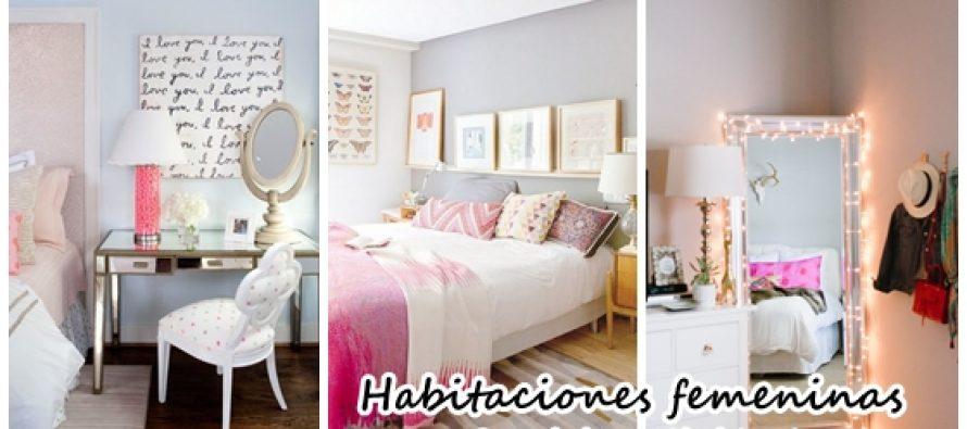 Decoraci n de habitaciones femeninas decoracion de for Decoracion facil decasa