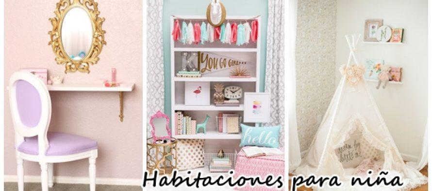 Decoración de habitaciones para niña