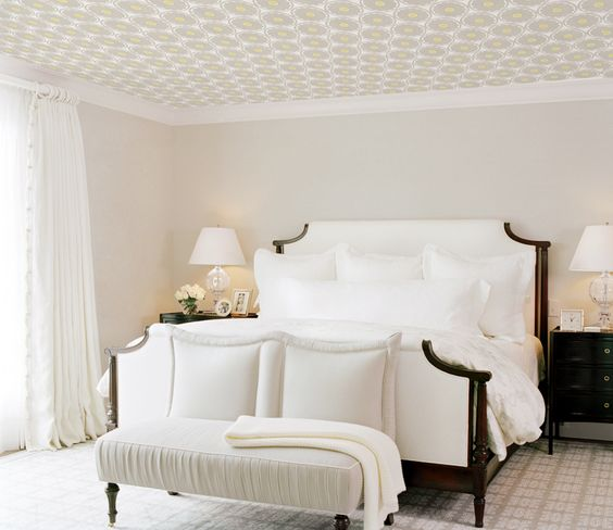 decoracion-de-techos-con-papel-tapiz-se-mira-hermoso-19 | Decoracion ...