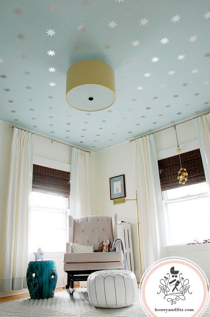 Decoraci n de techos con papel tapiz se mira hermoso 21 - Mira y decora ...