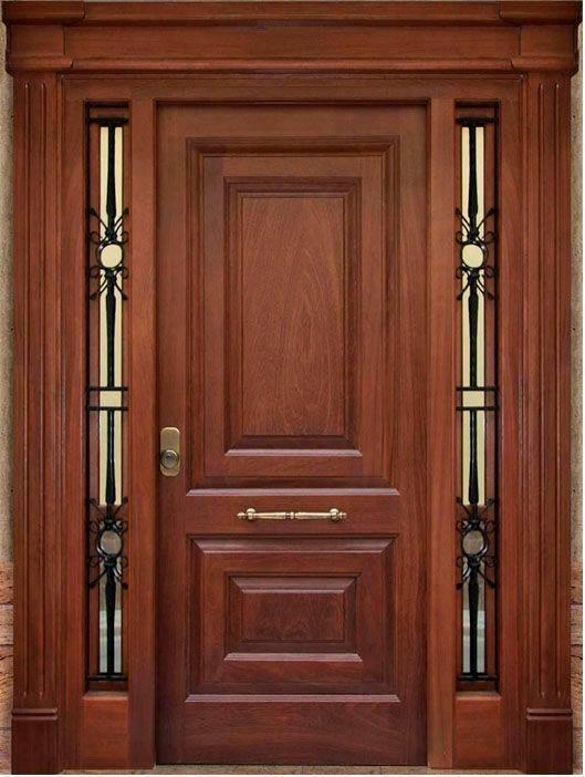 Disenos para puertas modernas de exterior 15 decoracion for Puertas principales modernas 2016
