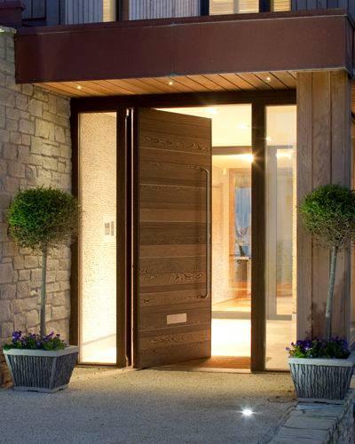 Disenos para puertas modernas de exterior 2 decoracion for Disenos de puertas para casas modernas