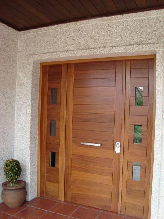 Disenos para puertas modernas de exterior 20 decoracion for Puertas principales modernas 2016