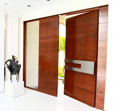 puertas modernas exterior