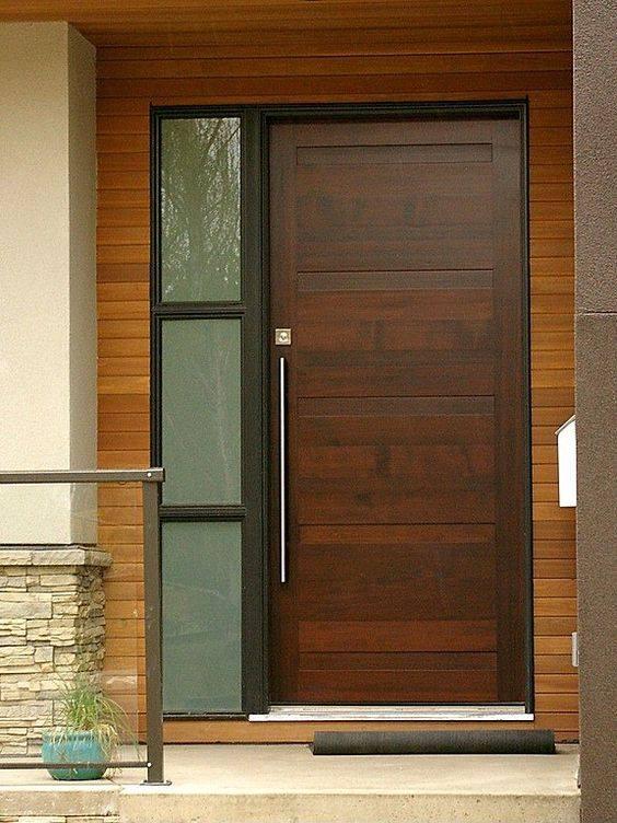 Disenos para puertas modernas de exterior 6 decoracion - Puertas de esterior ...