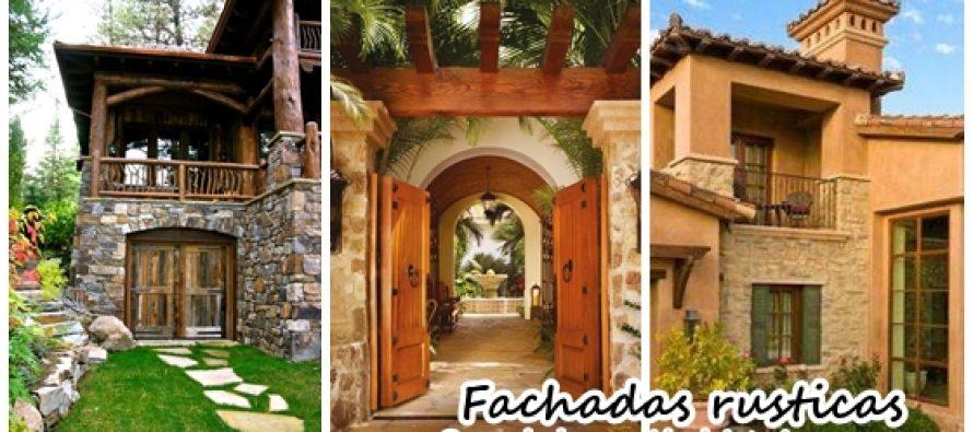 Fachadas rusticas para tu casa