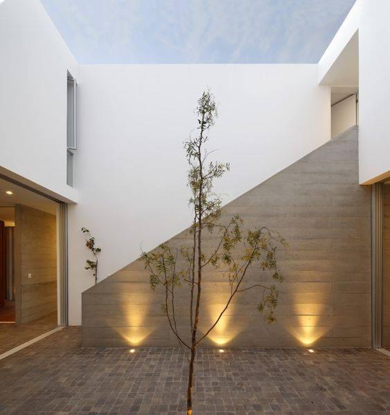 Geniales propuestas de iluminacion exterior de casas 27 - Iluminacion de exterior ...
