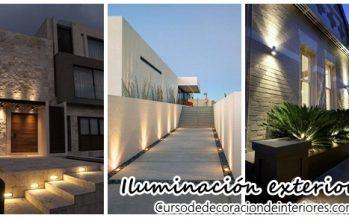 Geniales propuestas de iluminacion exterior de casas