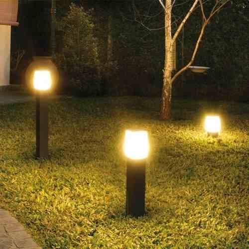 Geniales propuestas de iluminacion exterior de casas 8 - Iluminacion exterior jardin ...