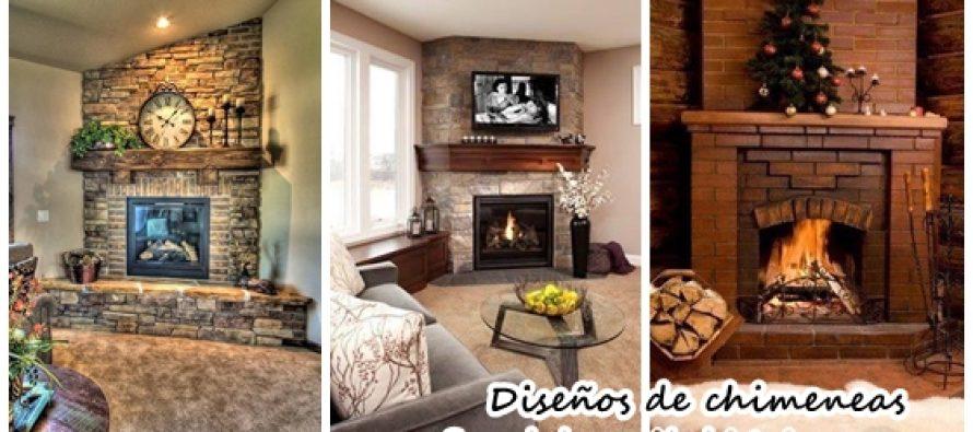Hermosos diseños de chimeneas