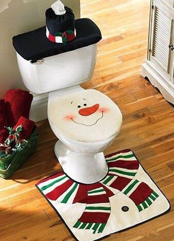 Ideas para decorar tu baño esta navidad 2016-2017 (8) | Decoracion ...