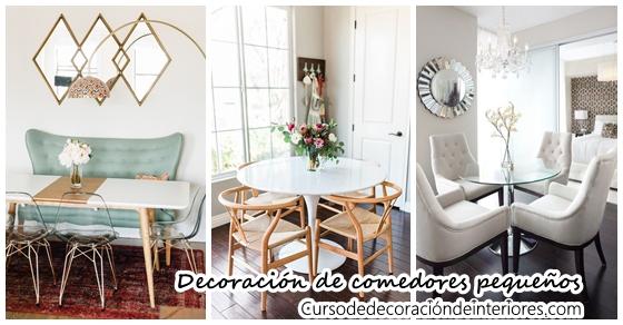 Ideas para decorar un comedor pequeño | Curso de Decoracion de ...