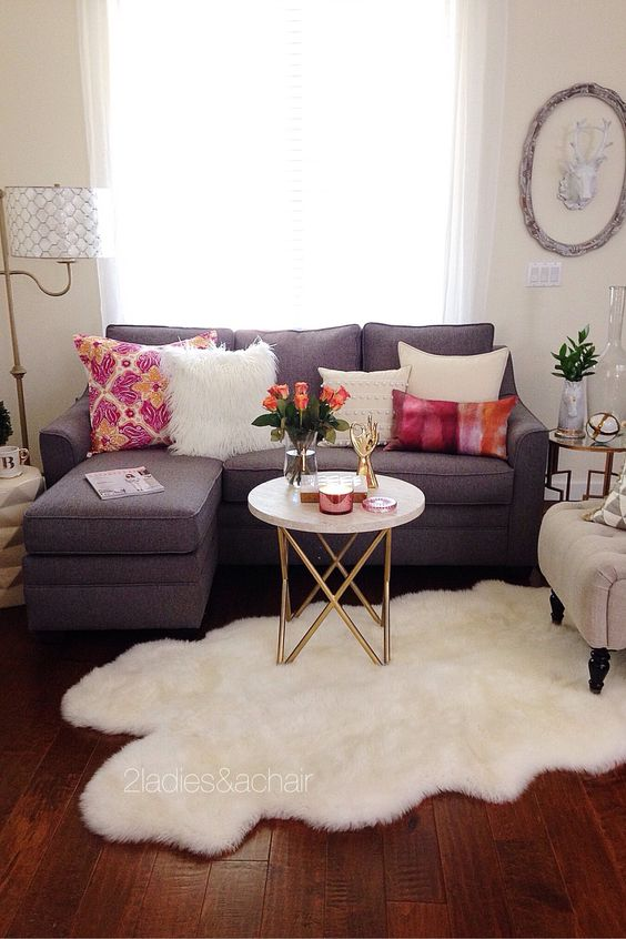 Ideas para decorar una sala pequena 14 decoracion de for Ideas para decorar mi sala pequena