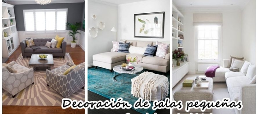 Ideas para decorar una sala peque a decoracion de for Ideas para decorar salas muy pequenas