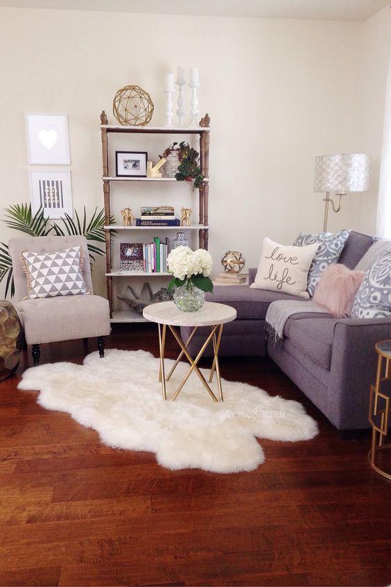 Ideas para decorar una sala pequena 6 decoracion de for Ideas para decorar tu sala