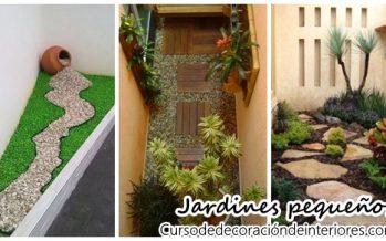 Ideas para montar un jardín pequeño