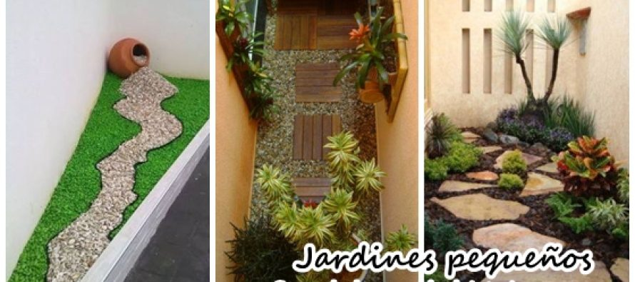 ideas para decorar un jardin pequeo