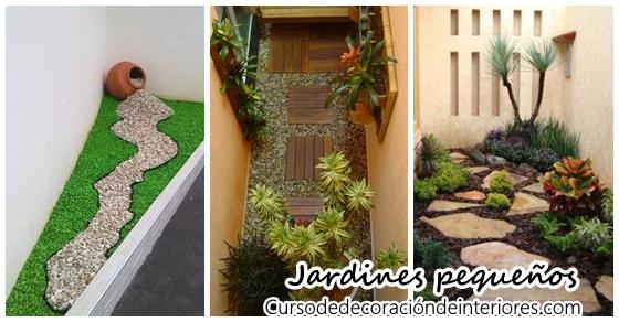 Ideas para montar un jardín pequeño | Decoracion de interiores ...