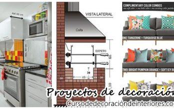 Proyectos de decoración  de interiores para remodelaciones
