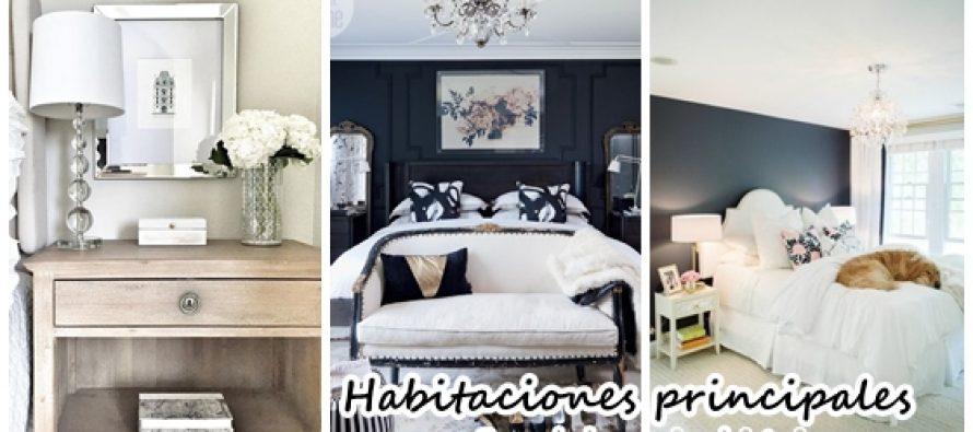 Tendencias de decoración  2017 para habitaciones principales