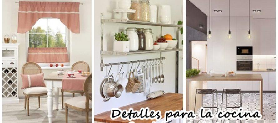 Detalles de decoración básicos para tu cocina
