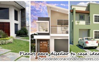 42 Planos arquitectonicos para el diseño de tu hogar