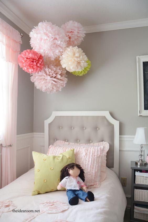 como decorar una habitacion de nia with decoracion de habitacion de nias