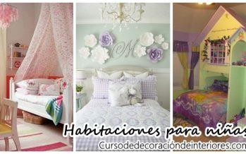 Algunas ideas para decorar habitaciones para niña