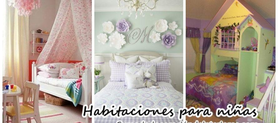Algunas ideas para decorar habitaciones para ni a - Ideas para decorar habitacion de nina ...