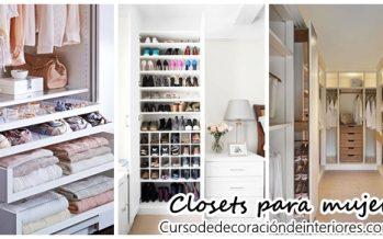 Closets para mujer