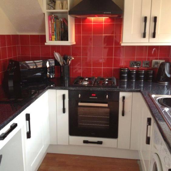 Cocinas en color rojo 24 decoracion de interiores - Cocinas de color rojo ...