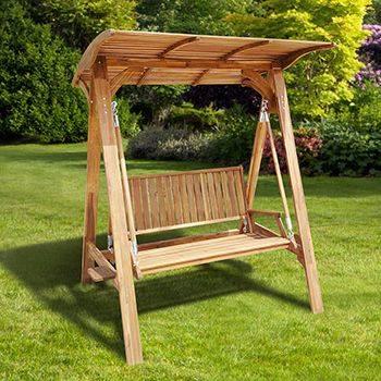 Columpios de madera para tu jardin 11 decoracion de - Columpios de madera ...