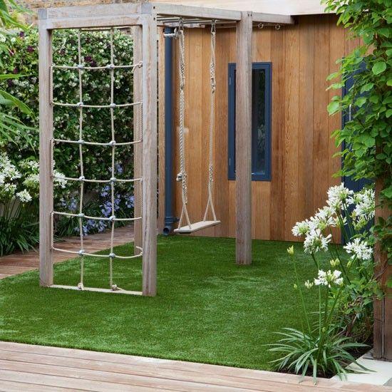 Columpios de madera para tu jardin 24 curso de decoracion de interiores interiorismo - Columpios para casa ...