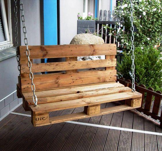 Columpios de madera para tu jardin 25 curso de - Columpios de madera para jardin ...