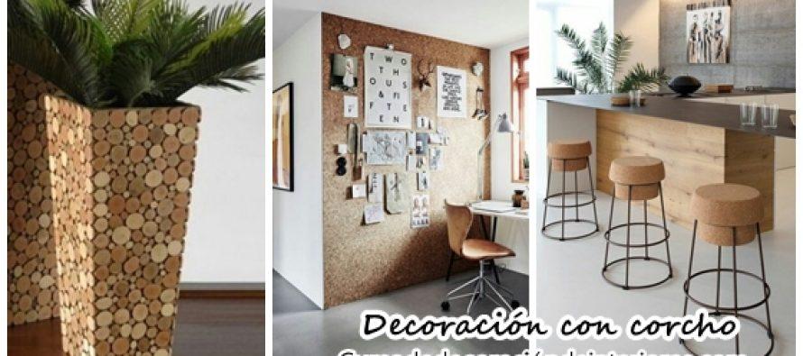 Decoraci n con corchos decoracion de interiores for Decoracion con corchos