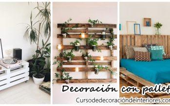 Decoracion de interiores interiorismo decoraci n - Decoracion con pallets ...