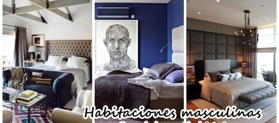 Decoración de habitaciones para hombre