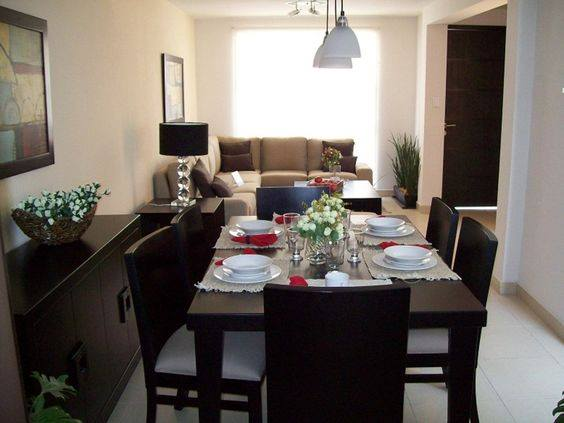 Decoracion de sala y comedor juntos 13 curso de for Diseno de sala comedor y cocina juntos